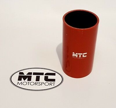 """Mtc Motorsport 63Mm 2.5"""" Straight Silicone Joiner Join Hose! Different Colours"""