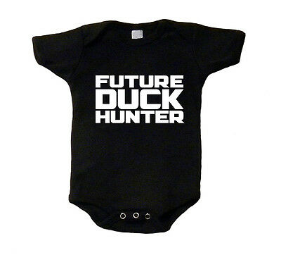 Future Duck Hunter Baby T-Shirt Ducky Shirt One Piece Funny Hunting Dynasty