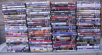 Job Lot of x 100+ DVD's..Ideal for Car Boot
