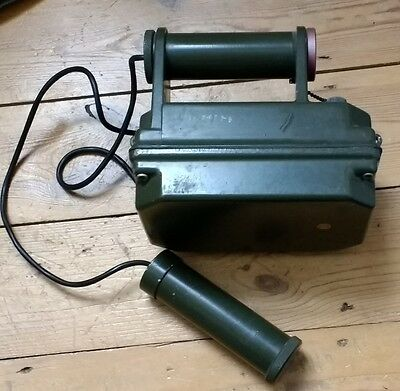 Vintage Handheld Geiger Counter - Collectible Radiation Nuclear War Fallout Cool