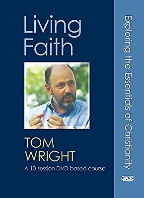 Living Faith DVD Pack: Exploring the Essentials of Christianity, Wright, Tom, Us