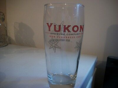 Yukon Brewing Company.- Beer Glass