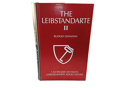 The Leibstandarte, Volume 1 - 3 with Mapbook 3 Peice Set(Hardcover)