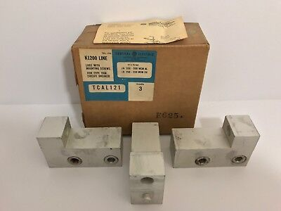 Box Of 3 New! Ge / General Electric K1200 Line Lugs Tcal121
