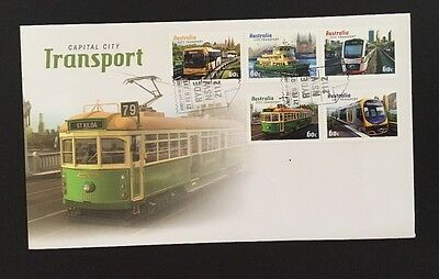 2012 Capital City Transport First Day Cover