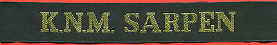 █► Norwegische Marine mützenband Norwegian Navy cap tally hat ribbon (5)