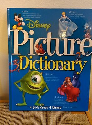 Disney Picture Dictionary Hard cover book