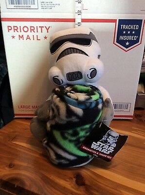 Star Wars Empire Trooper Character And Throw Set Blanket