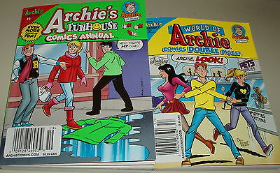 TWO #19 & #57 ARCHIE double digest & Archie's Comic Book