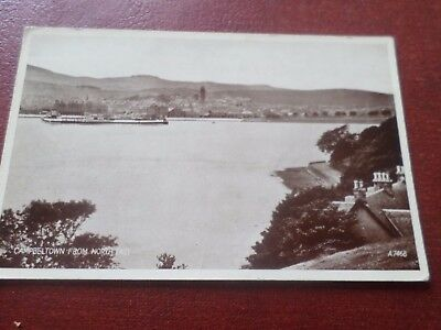 Old Postcard Campbeltown From North East