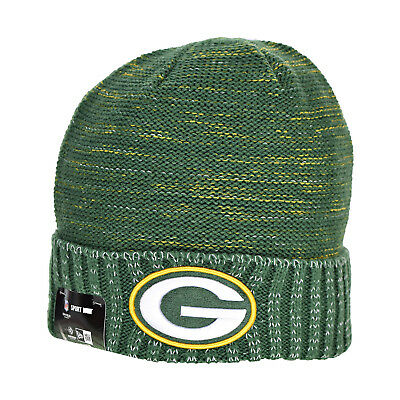 New Era Green Bay Packers NFL 17 Knit Kickoff Men s Beanie Hat Cap Green  Yellow db09298d3