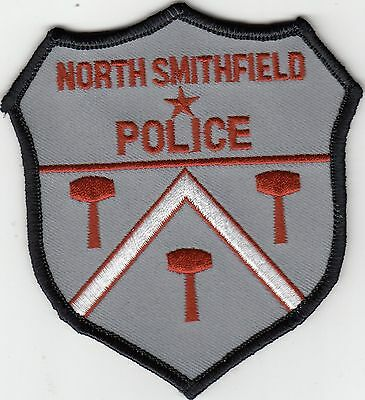 North Smithfield Rhode Island Ri Police Shoulder Patch