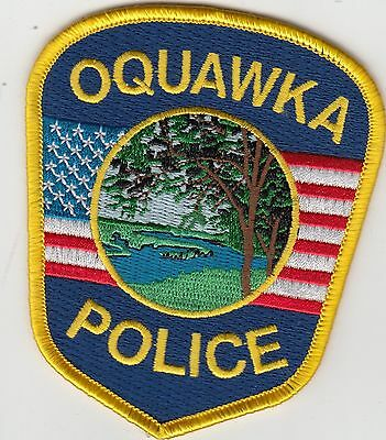 Oquawka Illinois Il Police Shoulder Patch