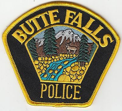Butte Falls Oregon Or Police Shoulder Patch