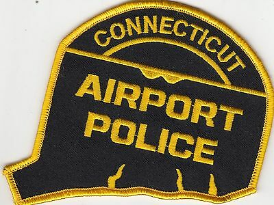 Connecticut Airport Police (Disbanded) Patch Ct