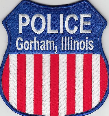 Gorham Illinois Il Police Shoulder Patch