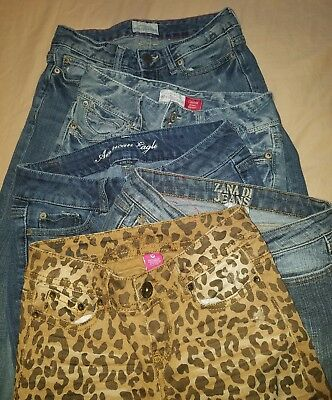 Huge lot of 5 pairs of Juniors jeans  00/0