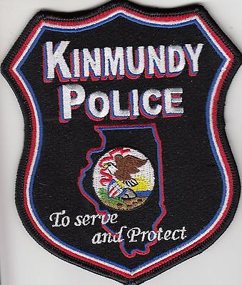 Kinmundy Illinois Il Police Shoulder Patch
