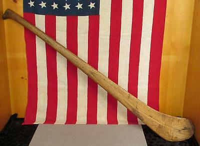 "Vintage Antique Wood Hurling Bat early Hurley Stick 36"" Ireland Gaelic Sports"