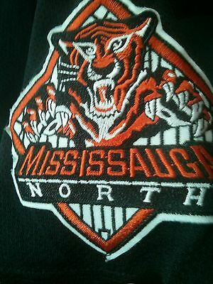 Mississauga North Bengals game worn jersey   MLB Easton Baltimore Orioles