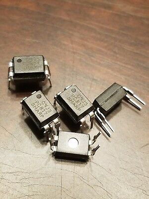 10pcs US Stock  thru hole Sharp PC817 PC817C EL817C LTV817  DIP-4 Optocoupler