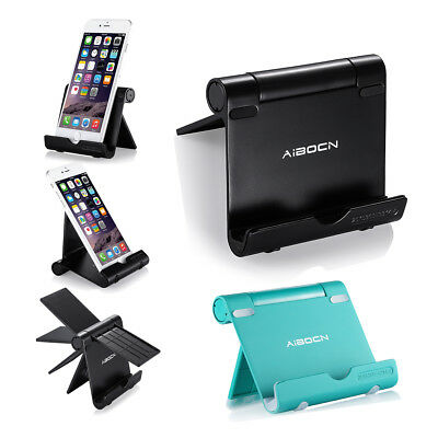 Aluminum Desktop Car Stand Mount Holder For Kindle CellPhone Tablet iPhone 6/6s
