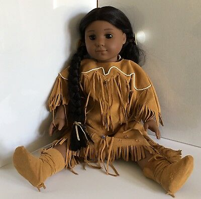 Retired AMERICAN GIRL Doll KAYA Original Outfit Pleasant Co 2002
