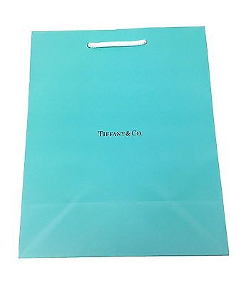 New Authentic Tiffany & Co. Carry Paper Shopping Bag - 1 Bag -