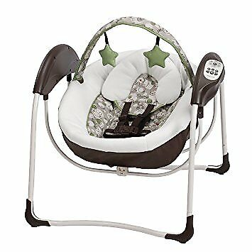 Glider Lite LX Gliding Baby Swing with 6 speeds Chair Soother