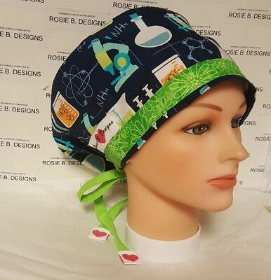Lab/ Pixie Hat/ Scrub Surgical/ Medical/ Chemo Caps /nurses/or/drs