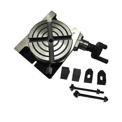 """Horizontal and Vertical Rotary Table 75mm /3"""" Model with M6 Clamping Kit Set"""