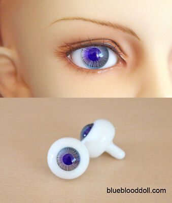12mm bjd glass doll eyes two shades colors dollfie iplehouse luts #CH-04 ship US