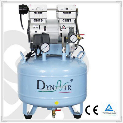 DynAir Dental Air Compressor Oil Free Silent CE FDA Approved DA7001 Wd
