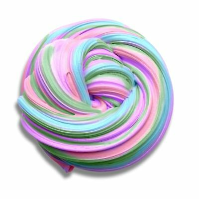 Colorful Fluffy Floam Slime Scented Stress Relief No Borax Kids Toy Sludge Toy