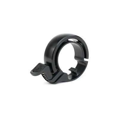 Bicycle bell Oi Classic Large 23.8 - 31.8mm matte black Knog bike