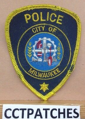 Milwaukee, Wisconsin Police (Small) Shoulder Patch Wi