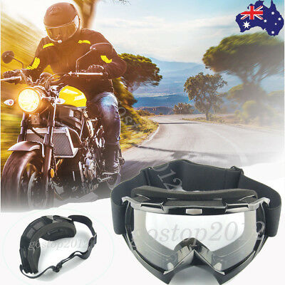 AU Motorcycle Anti Wind Outdoor Sporting Riding Off-Road Goggles Eyewear Glasses
