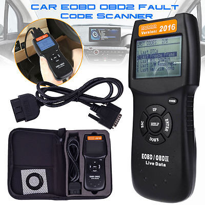 Universal Car Fault Code Reader D900 OBD2 EOBD CAN Diagnostic Scanner Tool
