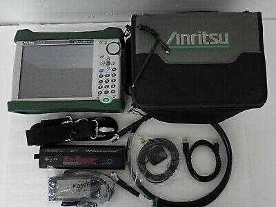 ANRITSU MS2712E SPECTRUM MASTER HANDHELD SPECTRUM ANALYZER,4GHz