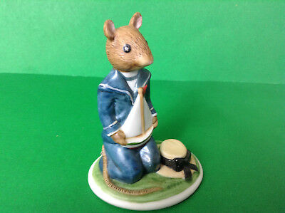 Ruper 1985 FP Crafted Taiwan Sail Boat Salior Mouse & Hat