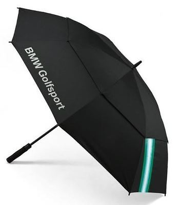 BMW Golf Collection Automatic Stick Umbrella Black Green 80232285754 Genuine New