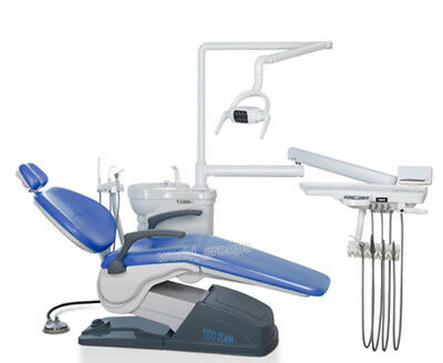Dental Unit Chair Computer Controlled FDA CE Approved A1 Model Hard Leather Wd