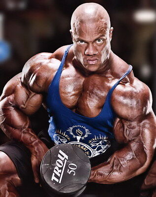 """237 GYM - Phil Heath Body Building Muscle Exercise Work Out 14""""x17"""" Poster"""