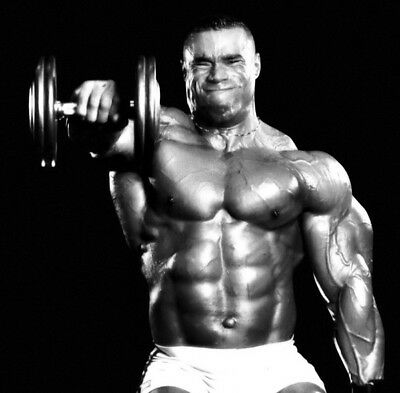 """213 GYM - Kevin Lecrone Body Building Muscle Exercise Work Out 14""""x14"""" Poster"""