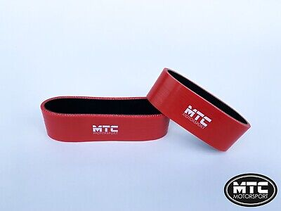 Mtc Mini Cooper S R53 Intercooler Silicone Hoses Snoot Boots Top Mount Red
