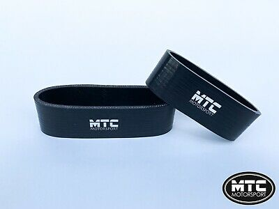Mtc Mini Cooper S R53 Intercooler Silicone Hoses Snoot Boots Top Mount Black