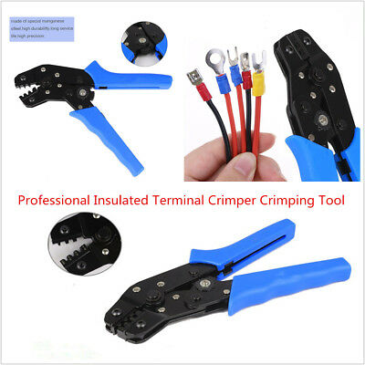 Professional Pin Compression Ratcheting Modular Insulated Terminal Crimper Tool