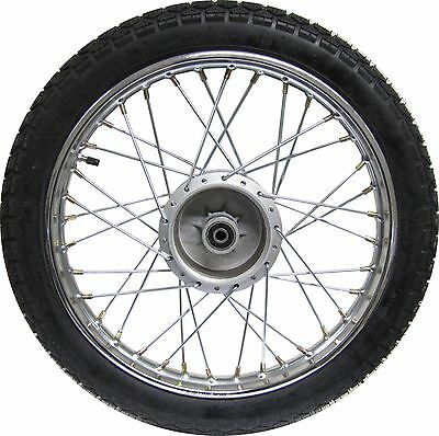 Suzuki AP50 Rear Wheel, Complete with tyre (275-17)