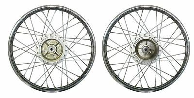 Yamaha FSIE Rear Wheel, Drum brake, with, cush, drive, rubber, (Rim 1