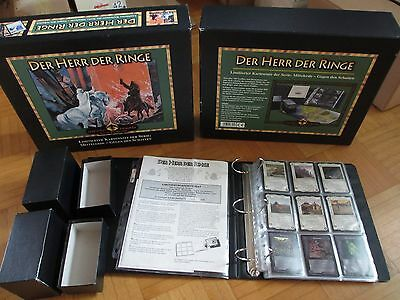Middle Earth CCG Against The Shadow – Limited complete German Collectors Box Set